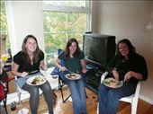 Maddy, Lynsey and Shona enjoying Thanksgiving.: by josh_shona, Views[192]