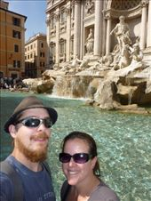 The Trevi Fountain, and about 1000 other bastards, Rome.: by josh_shona, Views[282]