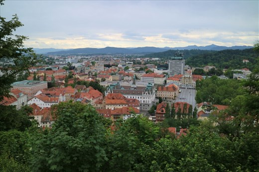 View from Ljubljana Castle, Ljubljana