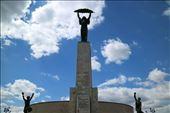 Liberty statue on top of Gellert Hill: by joshandkaren, Views[128]