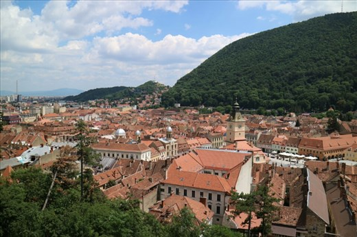 View over Brasov