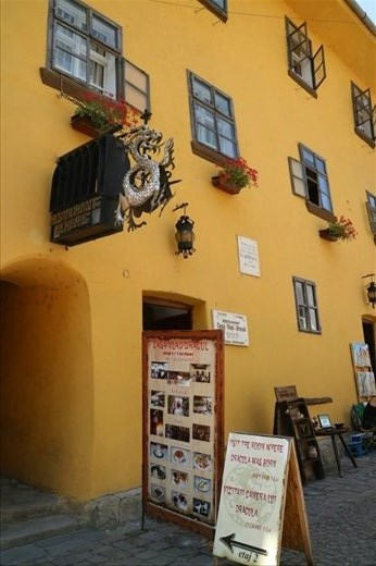 Birthplace of Vlad the Impaler in Sighisoara