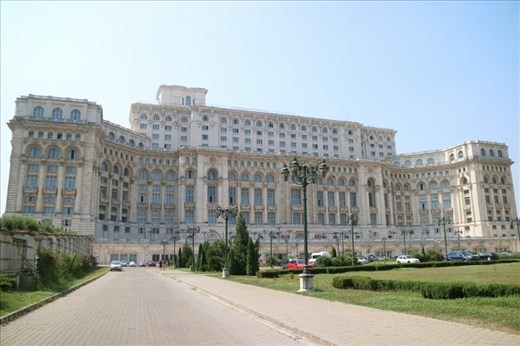 The Palace of the Parliament,  the second largest building in the world after the Pentagon