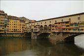 Ponte Vecchio with the Vasari Corridor: by joshandkaren, Views[94]