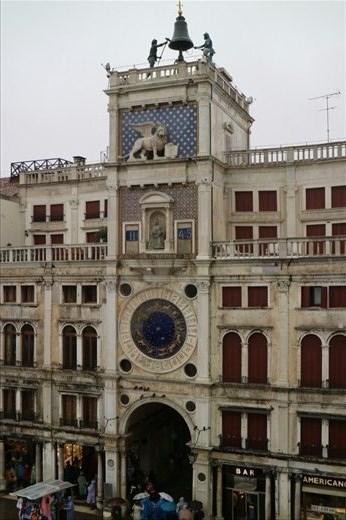 Torre dell'orologio in St Mark's Square