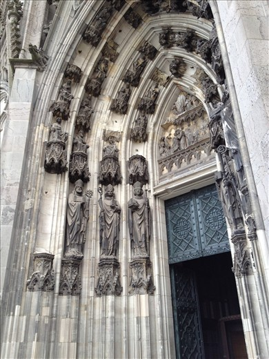 Cologne Cathederal Entry