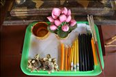 Tray on Alter at Wat Chiang Man: by journal1, Views[94]