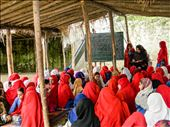 One day Journalists will 'also' cover the progressive side of FATA.  (While the red shawls silently pay tribute to Pakhtun nationalism, the UN funding for setting up this school for girls explicitly demonstrates the capitalist ideology of sustainable development gradually penetrating in FATA through foreign aid).  : by joveriahassan, Views[175]