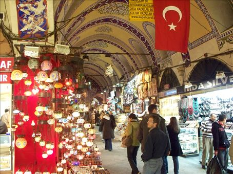 haggling in the Grand Bazaar