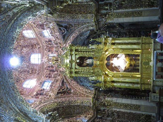 Puebla - Chapel of the Rosary