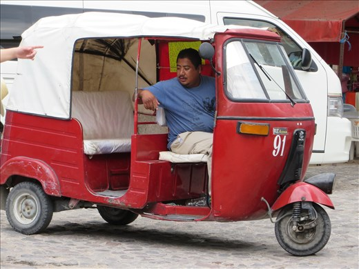 Oaxaca - Local Taxi Mitla