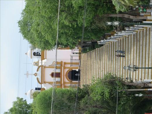 Church on hill - San Cristobel