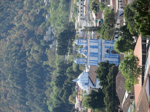 View from opposite church - San Cristobel