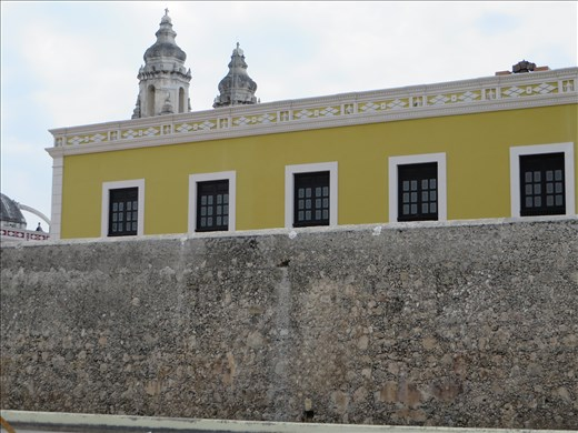 Part of old wall _ campeche