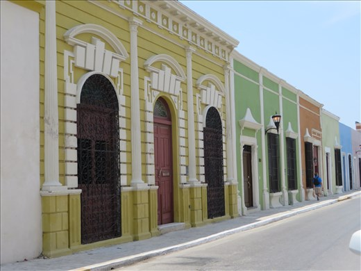 Building Fronts (spanish style) - Campeche