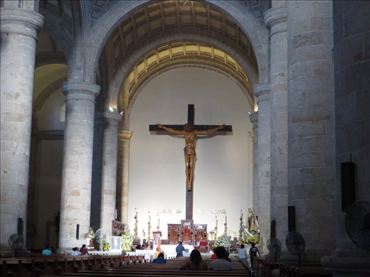 Inside Cathedral -Merida- plain for a change