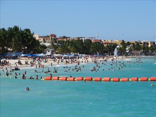 Playa beach - view from pier