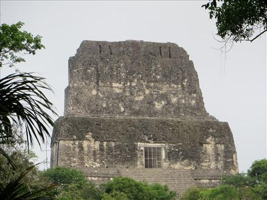 Tikal - Where we waited for sunrise