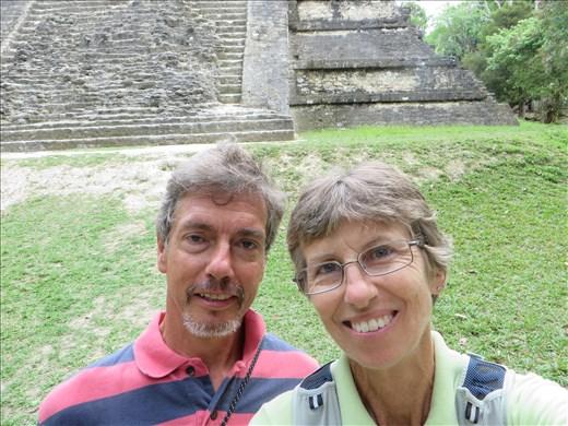 Tikal - selfie