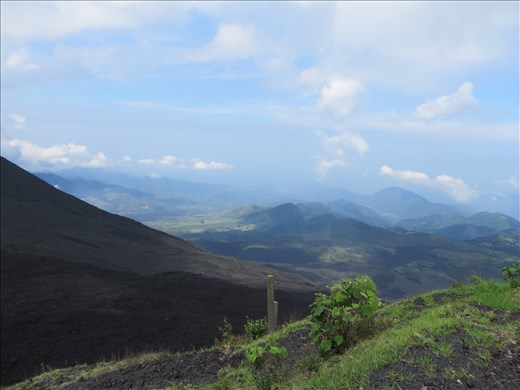 Views from up high near Pacaya