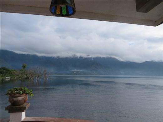 Lago Atitlan - view from hostel verandah