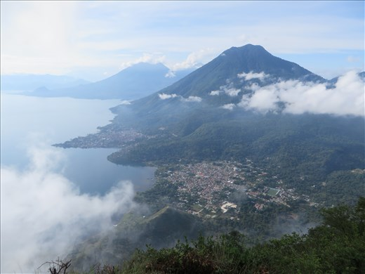 Lago Atitlan - view from indian nose