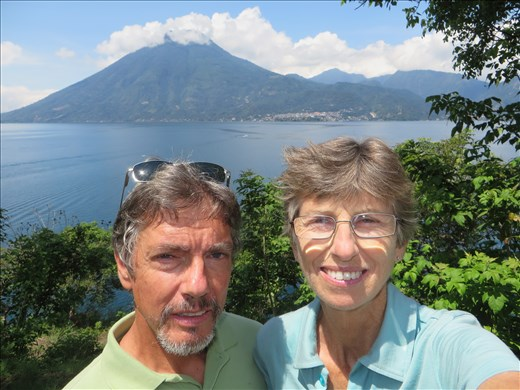 Lago Atitlan -  selfie at San Marcos national park