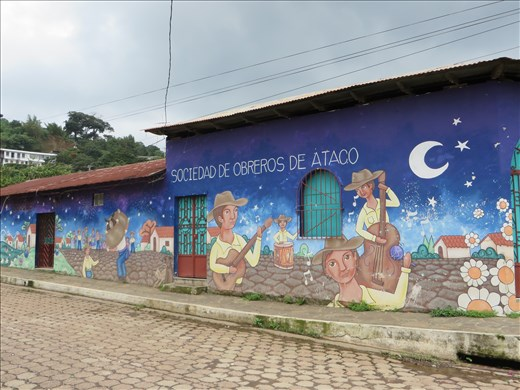 Ataco - one of many murals on houses