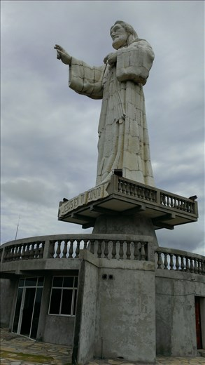 San Juan del Sur - Jesus Statue on headland