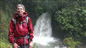 Waterfall at ground level - hiking La Fortuna: by jugap, Views[183]