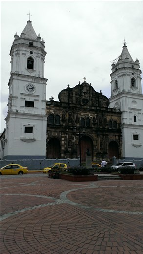 Cathedral old city - Panama city