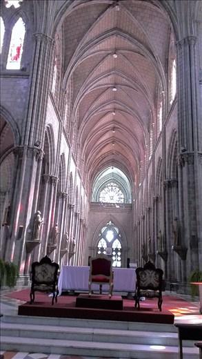 Inside La Basilica church - Quito