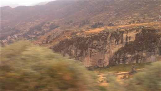 view from bus enroute to Lima