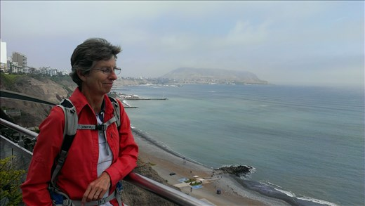 Miraflores area - Lima -(pacific ocean)