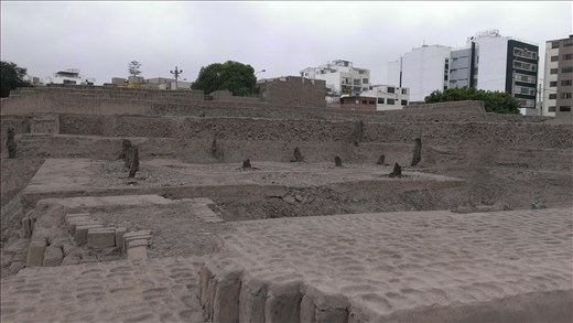Huaca Pucllana inca ruins - Miraflores - Lima