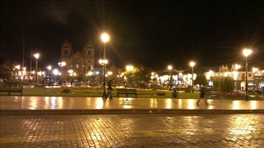 Plaza de Aramas - Cusco - by night