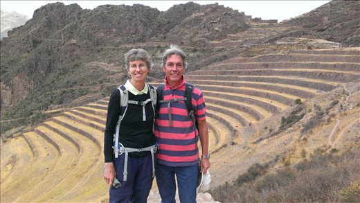 Pisac inca ruins - Sacred Valley - the terraces