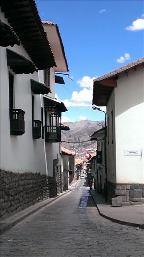 Cusco streetscape