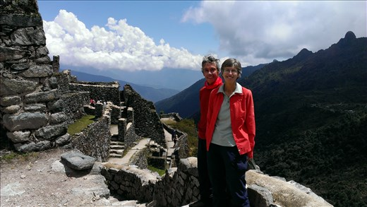 More inca ruins on trail