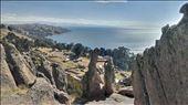Copacabana - lake view thru inca