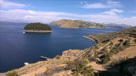 Isla del Sol - view from ridge
