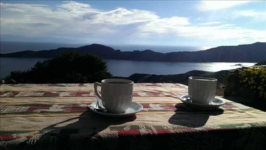 Isla del Sol - Afternoon tea