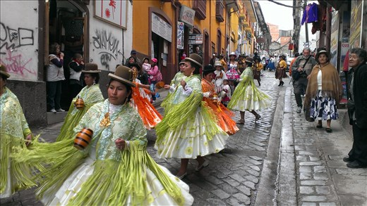 La Paz - artisan parade