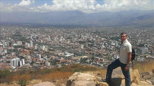 Cochabamba - view from Jesus statue
