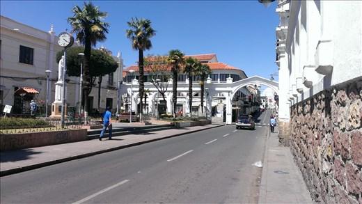 Sucre - streetscape