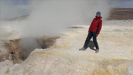 SFT - Day 2 geyser - very noisy steam one