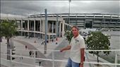 Outside Macarana Stadium - home of the world cup final: by jugap, Views[175]