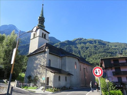 Les Houches - church