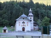 Church on way out of Les Contamines - along flat beside river : by jugap, Views[122]