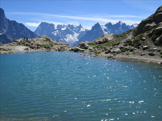Lac Blanc  - in front of refuge